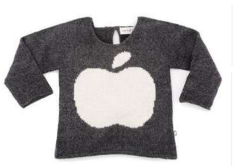 Charitable Geek Sweaters - This Apple Sweater is Perfect for Kids of the Digital Age
