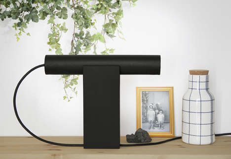 Roll Table Lamp