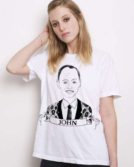Pop Culture Icon Fashion - The Deer Dana Portrait Collection Monumentalizes Our Favorite Celebrities