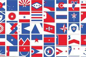 The Bresslergroup Gives the US State Flags Patriotic New Looks
