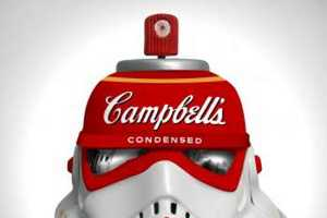 These Artworks Turn Stormtrooper Helmets into Unusual Canvases