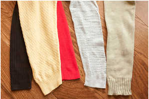 Turn Ordinary Jumpers into Cozy Leg Warmers with This DIY Guide