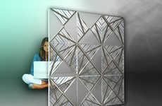 Air-Purifying Partitions - The Electrolux Parinna Improves Many Aspects of Interior Environments