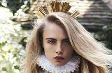 61 Regal Fashion Editorials