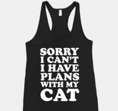 20 Humorous Tank Tops - From Rap-Inspired Cat Shirts to Blame-Dodging Tanks
