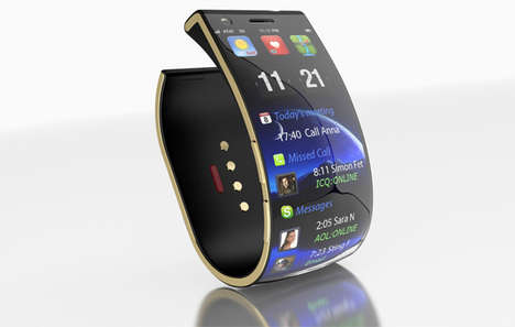 30 Examples of Sleek Wearable Tech - From Smartphone-Inspired Watches to Page-Flipping Eyewear