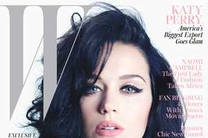 The W Magazine November 2013 Spread Showcases a Retro Katy Perry