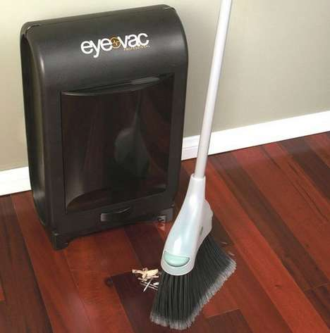 Compact Stationary Dustbusters - This Touchless Stationary Vacuum Makes Cleaning a Breeze