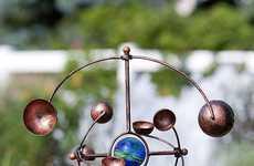 Rotating Galactic Sculptures