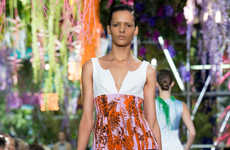 Psychedelic Garden Collections - This Dior Spring Collection is an Ode to Alice in Wonderland