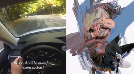 Art-Making Automobiles - This Lexus IS 300 Hybrid Creates Car Art Drawings of Its Driver