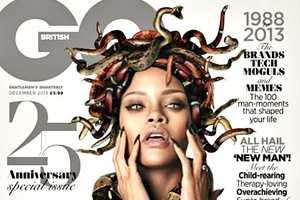 This Rihanna GQ 25th Anniversary Cover Channels Medusa
