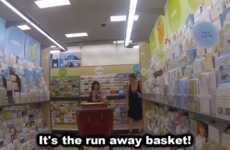 Haunted Shopping Cart Pranks - This Shopping Cart Prank Spooks Unexpected Shoppers