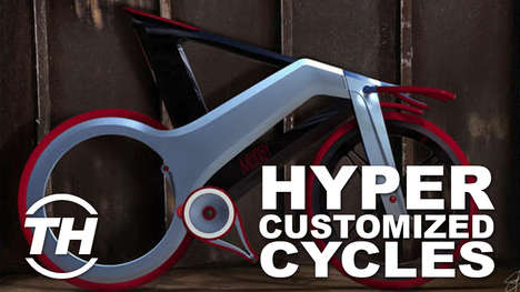 Hyper-Customized Cycles - Courtney Scharf Shares Some Fun and Functional Biking Gear