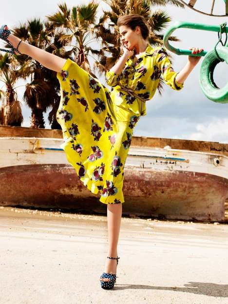 Energetic Fashion Editorials