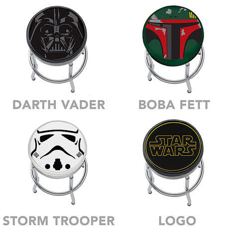 Sci-Fi Stool Designs - These Star Wars Bar Stools are Perfect for Any Dedicated Sci-Fi Movie Fan
