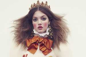 The Vogue Japan December 2013 Photoshoot Features Lindsey Wixson