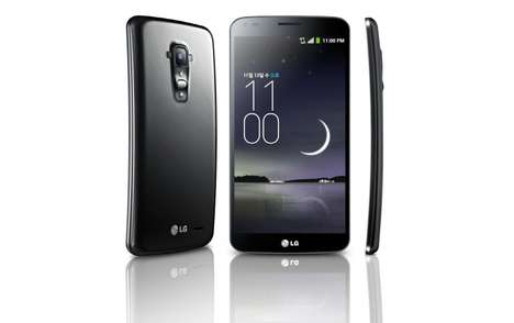 Curvaceous Smartphone Competitors - The LG G Flex is Designed to Rival the Samsung Galaxy Round