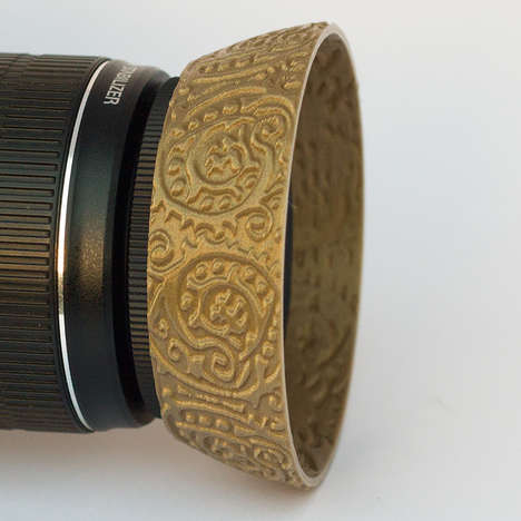 Textured Camera Caps - Kapsones Lens Hoods Bring Creative Spirit to Photographic Accessories