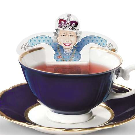 Regal High-Tea Infusers - The Royal Family Tea Bag Set is Perfect for Fancy Tea Time