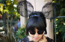 100 Halloween Headwear Ideas - From Lacy Mouse Ears to Festive Fowl Headgear