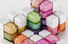The Formula X for Sephora Collection of Nail Varnish is Neatly Cubed