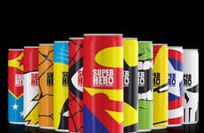 Superhero-Inspired Energy Drinks