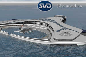 Nomadia by Sylvain Viau is a Future-Forward Water World