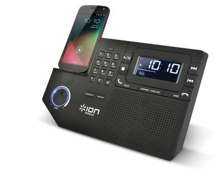 Conferencing Phone Docks - Phone Station Plus is a Cellphone Docking Station that Makes Calling Easy
