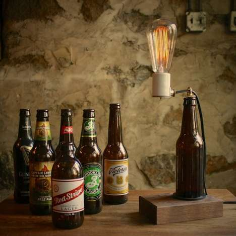 Man Cave Beer Lights - A Beer Light is an Easy Lighting Solution for Your Man Cave