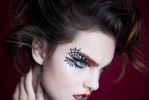 These Eye Decorations by Face Lace Are Dressed with All Things Spooky