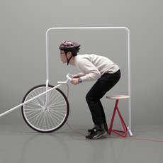 31 Cyclist-Friendly Furnishings - From Portable Bicycle Tables to Multipurpose Bike Shelves