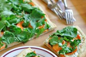 Meatless Pizza Appetizers
