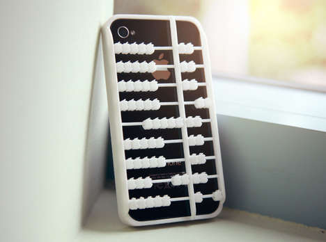 Analog Counting Covers - The Abacus iPhone Case Encourages Tactile and Virtual Interaction