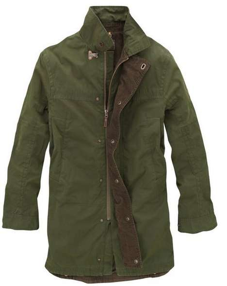 Earthy Autumn Outerwear - This Coat by Timberland Turns a Classic into Something New
