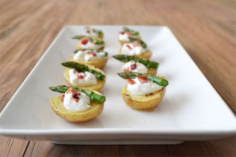 Portion-Controlled Potato Skins - Enjoy a Usually Heavy Meal Guilt-Free with Baked Potato Bites