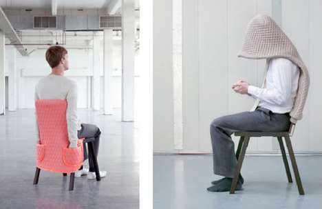 Fashionable Furniture Accessories - Chair Wear Series Invites You to Dress Up Your Tired Old Seating