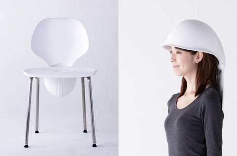 Head-Protecting Seating - The Mamoris Chair Offers Accessible Head Protection in Case of Earthquakes