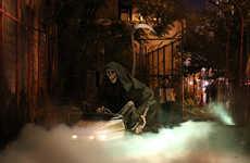 Grim Reaper Art Installations