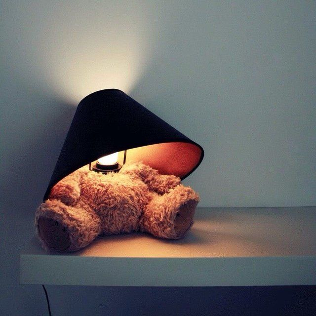 Headless Teddy Bear Lamps