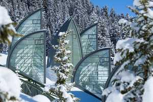 The Tschuggen Grand Hotel Has a Unique Glassy Design