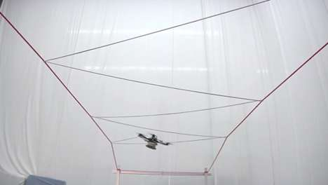 Web-Weaving Drones - These Spider Robot Drones Make Incredible Wire Structures