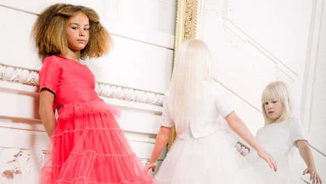 High-End Fashion Kid Collections - The Junior Gaultier Couture is for Young Fashionable Divas