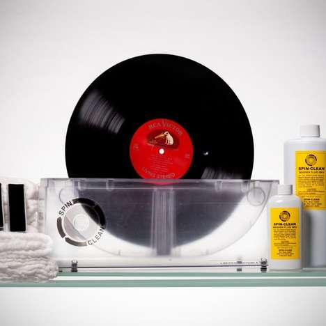 Spinning Vinyl Cleaners - The Spin-Clean Record Washer Brings Your Tunes Back to Life