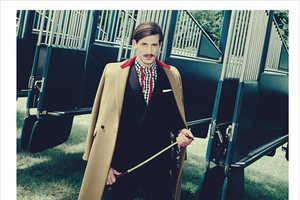 The Horsing Around GQ Australia Image Series Shows Refined Elegance