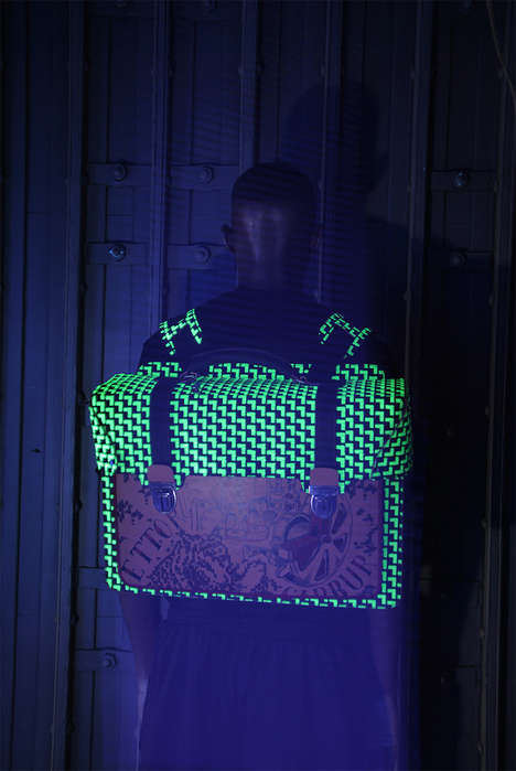 Glow-in-the-Dark Streetwear Catalogs - The GURI LIMIT.ED Collection Lookbook is Artfully Printed