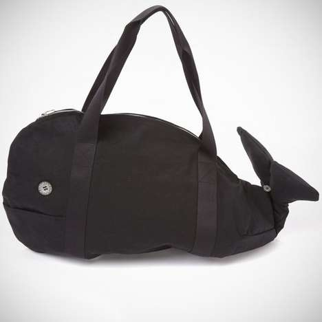 Aquatic Mammal Holdalls - The Kujila Whale Bag is a Whale of a Tale