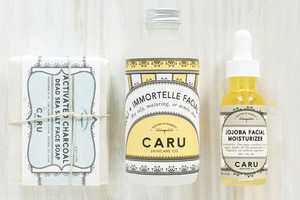 Caru Skincare Packaging Expresses a Fresh Take on an Antique Aesthetic