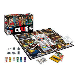 Sitcom-Inspired Board Games - The Big Bang Theory Clue Puts a Pop Culture Twist on the Classic Game
