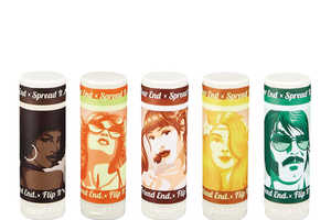 Balm Chicky Balm Balm Combines 70s Adult Films and Lip Balm